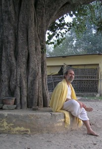 Shyamdas loved trees! Who doesn't?